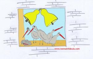Le cicogne di Montebello
