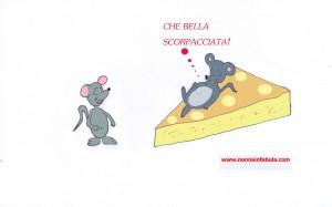 topolini con il formaggio
