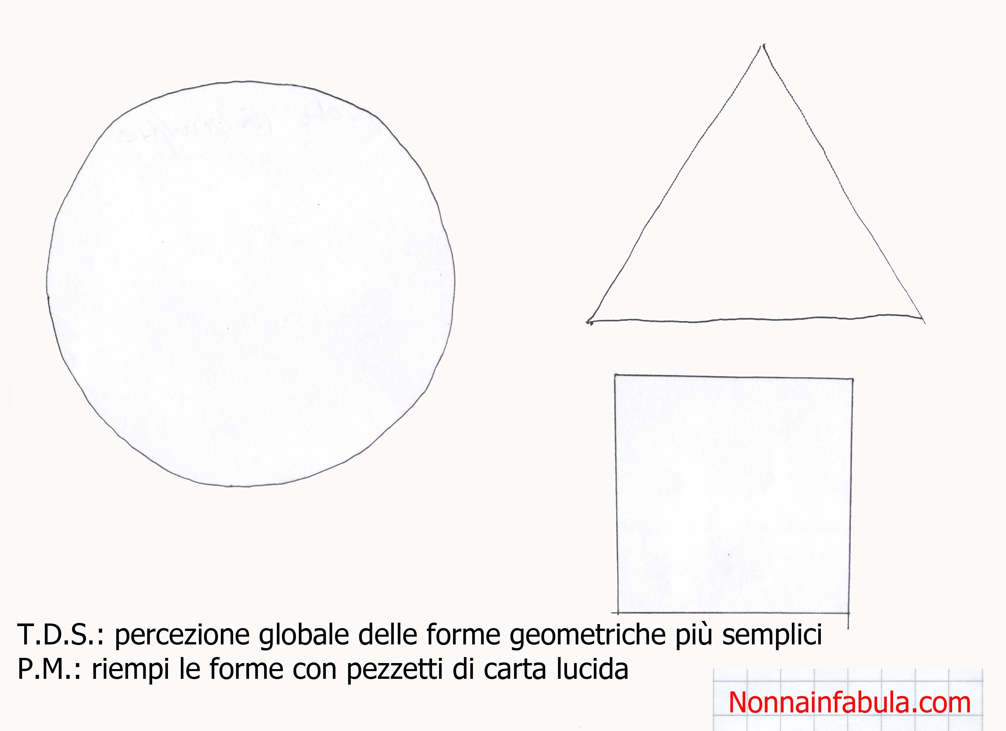 Schede forme geometriche scuola infanzia bu07 for Schede bambini 3 anni