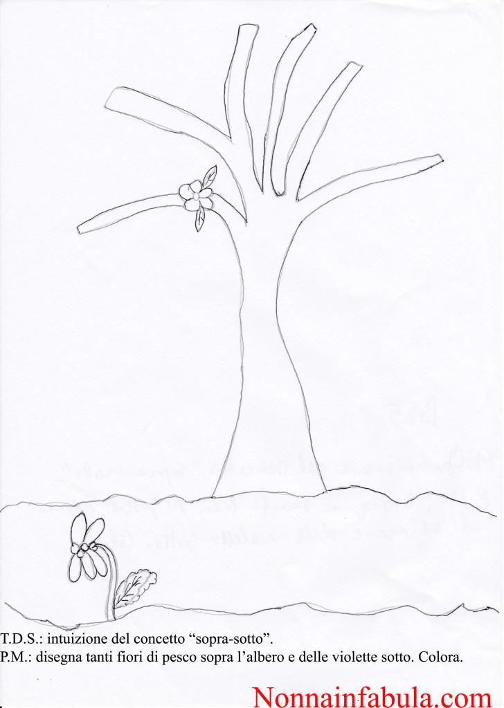 albero e fiore