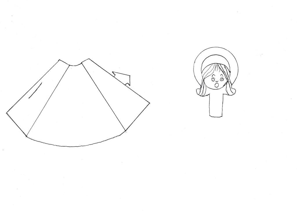 Progetto natale per bambini di 3 4 anni rivolto agli for Immagini da colorare di angeli