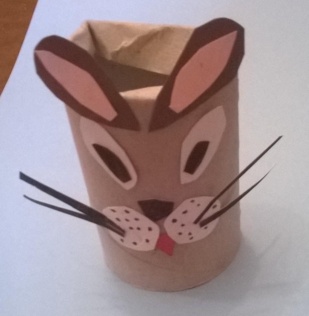 gatto di cartone