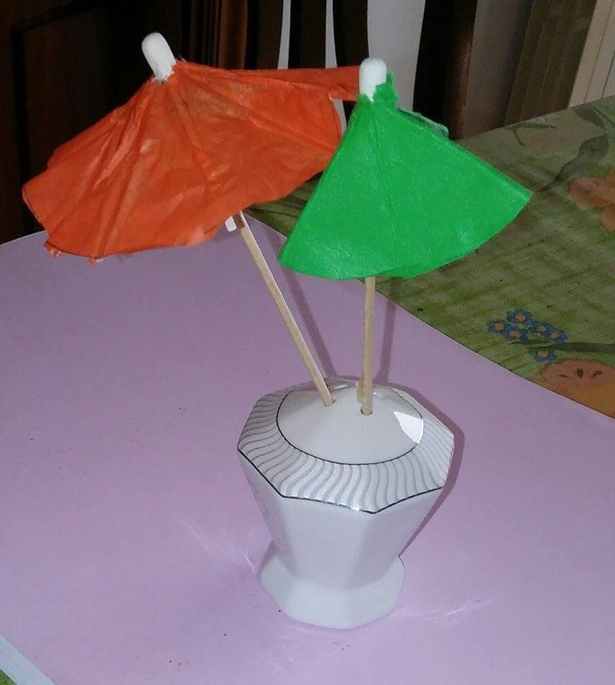 ombrellini di carta