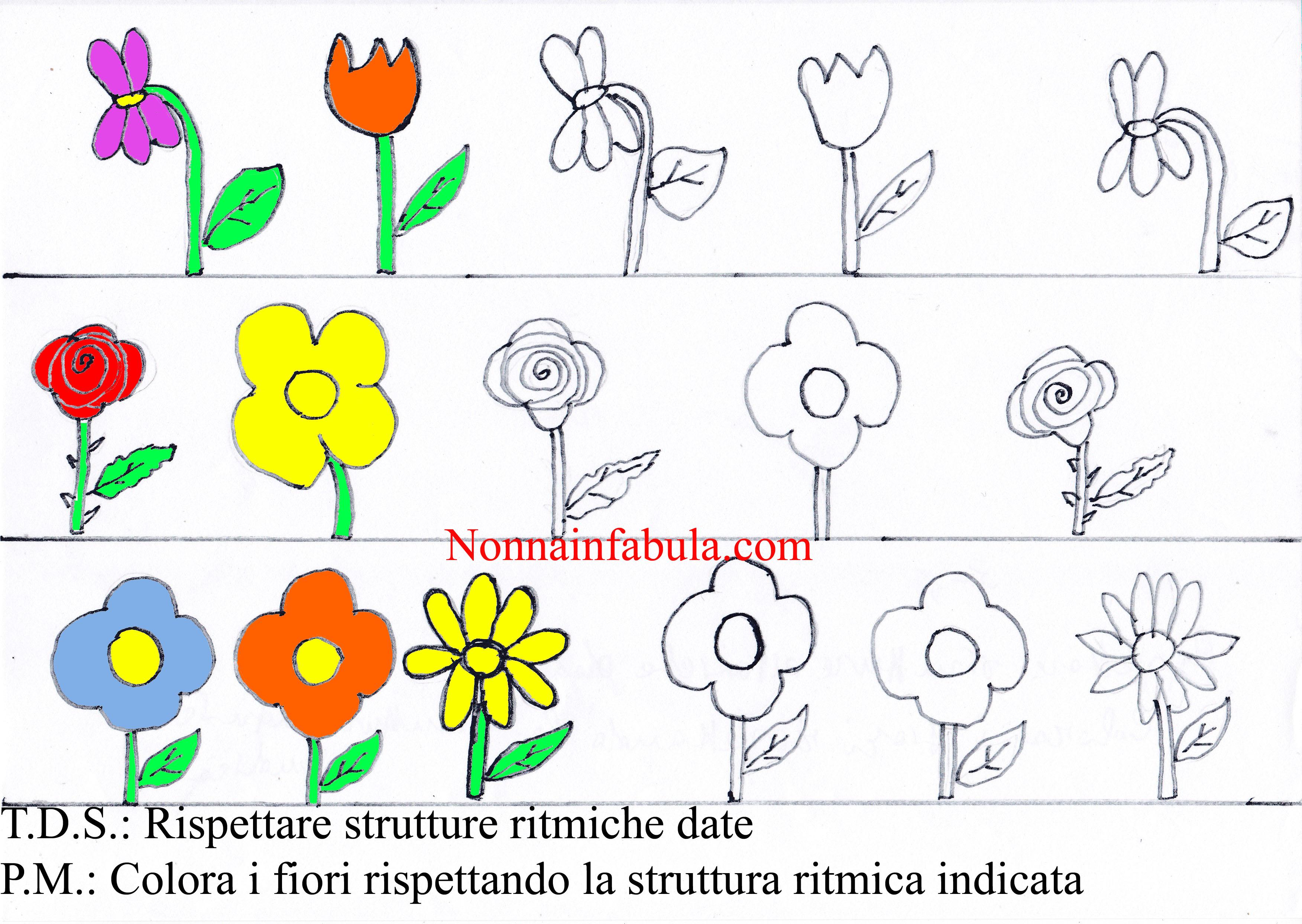 sequenza fiori