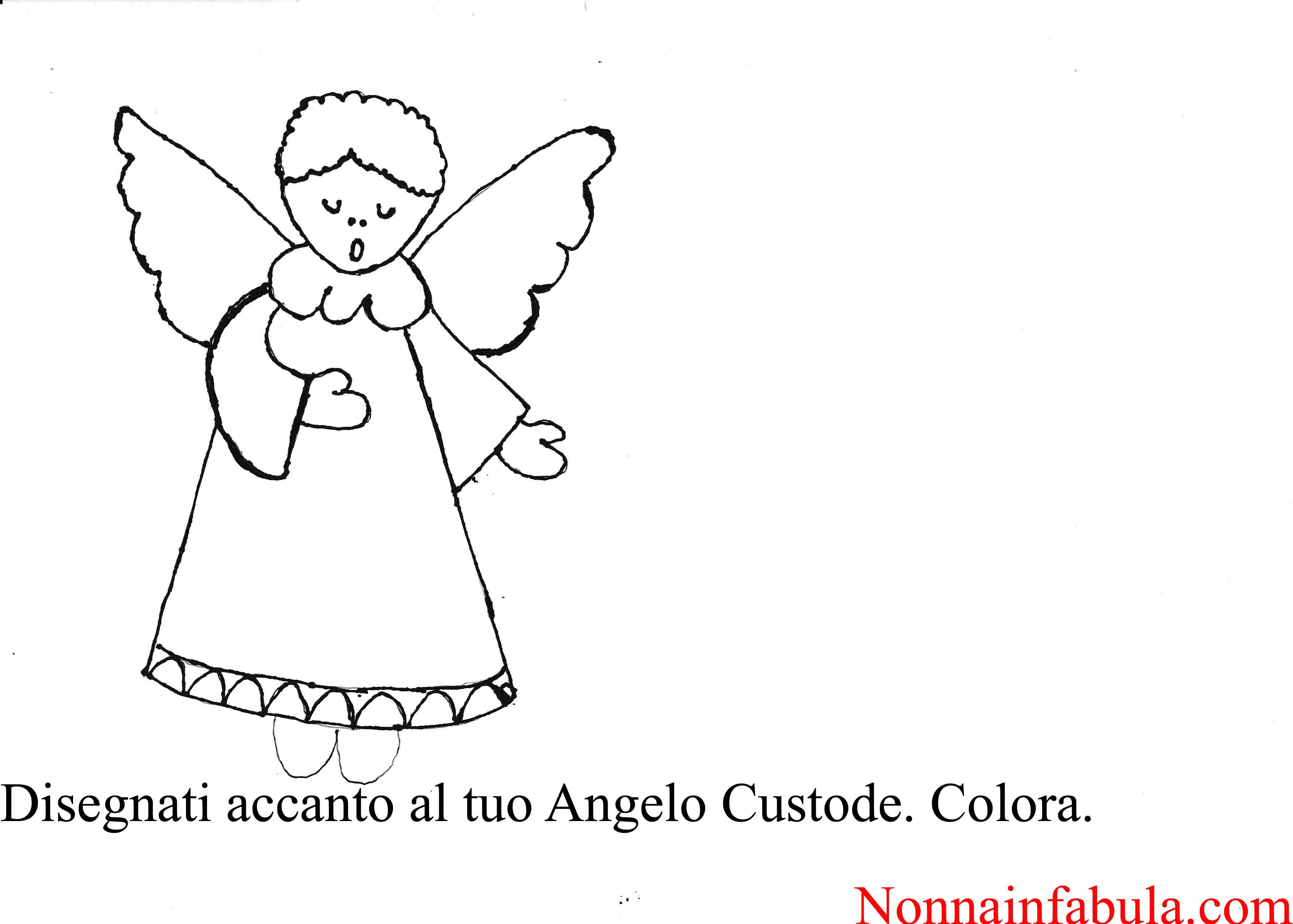 Progetto Gli Angeli Custodi Nonna In Fabula
