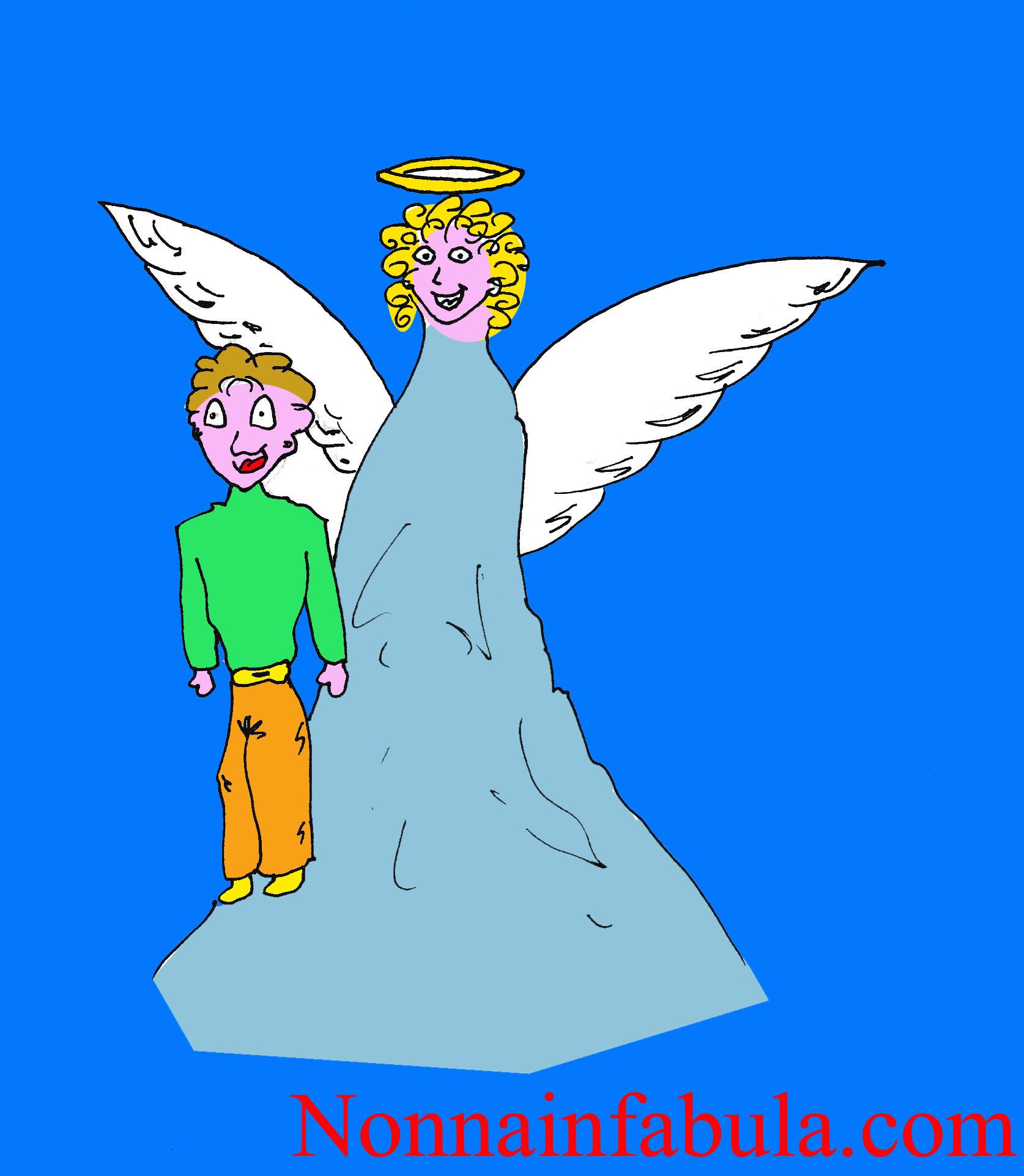 Poesie Di Natale Sugli Angeli Per Bambini.La Storia Degli Angeli Custodi Nonna In Fabula