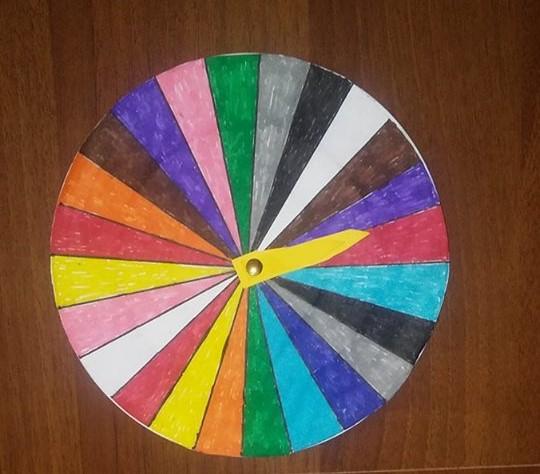 orologio dei colori