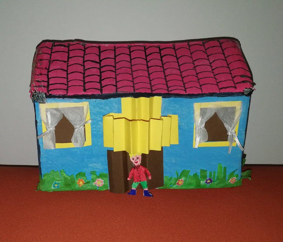 Progetto ambiente casa per bambini di 3 4 anni nonna in fabula - Casa di cartone ...